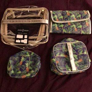 4 piece travel pouch set